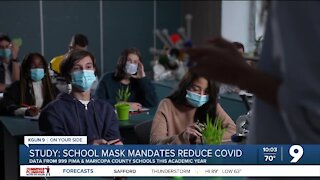 AZ Study: outbreaks 3.5 times more likely at schools without mask mandates