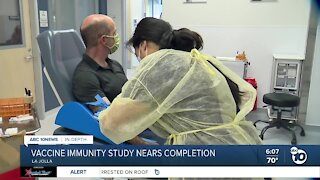 In-Depth: Vaccine immunity study nears completion