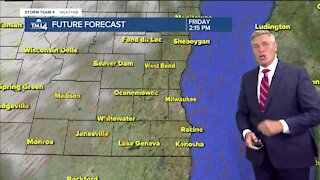 Friday morning is chilly, but it warms up quickly