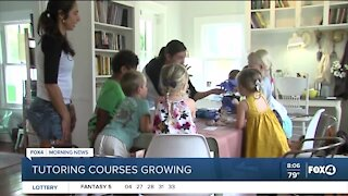 Tutoring services seeing an increase in business
