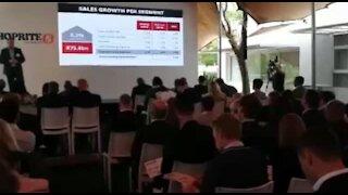 SOUTH AFRICA - Cape Town - SHOPRITE Interim Financial results presentation (VIdeo) (7HY)