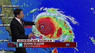Hurricane Dorian update 9/1/19 - 7am