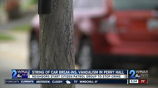 Neighbors concerned about car break-ins in Perry Hall