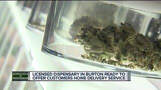 Marijuana dispensaries beginning home deliveries