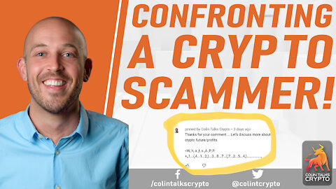 🔵 Actual Phone Call with a Crypto Scammer!
