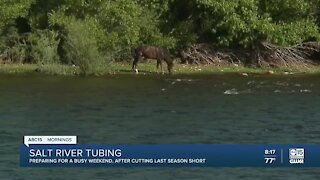 Thousands expected this holiday weekend at Salt River Tubing events