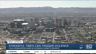 Domestic violence reports increasing amid stressful times