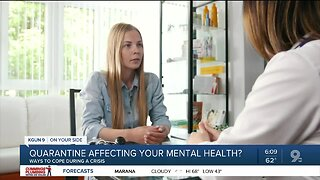 Being stuck in quarantine affecting your mental health? You're not alone.