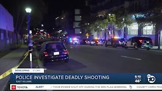 One person killed in East Village shooting