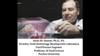 Cold Plasma Kills Viruses and Bacteria - Kevin Keener