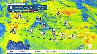 Get ready for breezy, cooler conditions this weekend