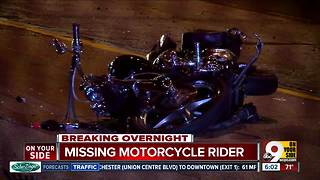 Police looking for motorcycle driver involved in crash
