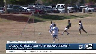 Fouhy's Small Stars: Salsa Futbol Club vs. Phoenix Premier