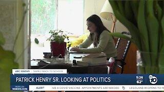 Back to school: Patrick Henry High senior hopes for political career