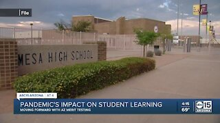 Pandemic's impact on student learning
