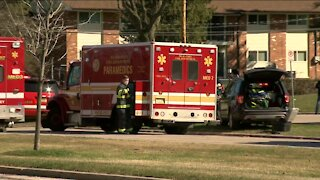 Crews respond to apartment fire in Brown Deer