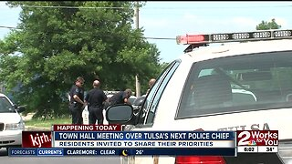 First town hall meeting for Tulsa's next chief of police