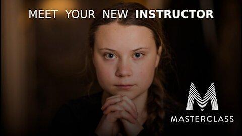 Greta Thunberg Teaches Everything On MasterClass