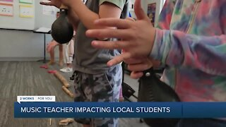 Music Teacher Impacts Local Students
