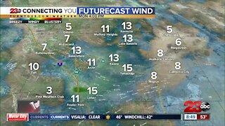 Sunday weather forecast, 8 am