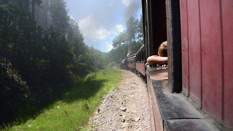 Black Hill Authentic Steam Engine Train