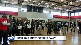 """""""Save our Suny"""" funding rally"""