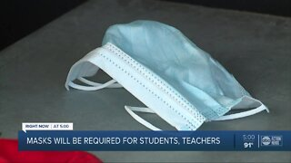Masks will be required for students, teachers in Hillsborough County