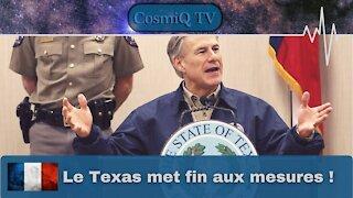 Le Texas ouvre ! Greg Abbott, 2/03/2021