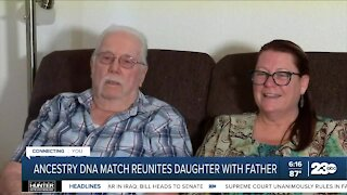 Ancestry DNA match reunites daughter with father