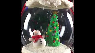 Sphere Christmas Cake