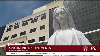 Ascension Online Care: $20 Online Appointments