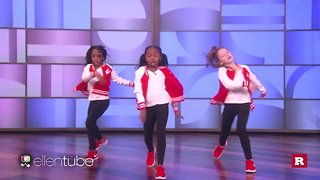 """Kids with serious dance moves on """"The Ellen DeGeneres Show"""" 