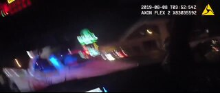 UPDATE: Police release body cam footage of officer involved shooting
