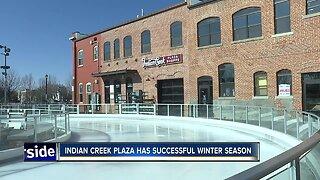 Indian Creek Plaza has successful winter season