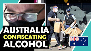 Australia CONFISCATING ALCOHOL / Hugo Talks #lockdown
