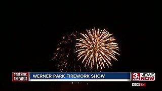 Werner Park Firework Show