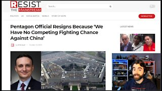 Pentagon Puppet Official Resigns, 'Takes A Dive' For China!