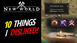 10 Small Things I Disliked In The Closed Beta - New World