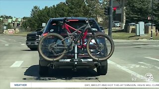 What's Driving You Crazy? Bikes covering license plates