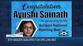 Williamsville student qualifies for Scripps National Spelling Bee