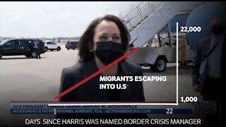 22K Illegal Migrants Have Entered Since Kamala Was Named Border Crisis Manager
