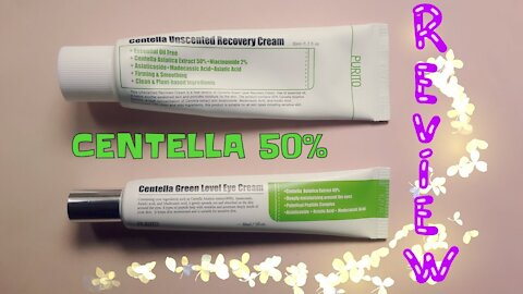 Review: PURITO - Centella Unscented Recovery Cream + Green Level Eye Cream