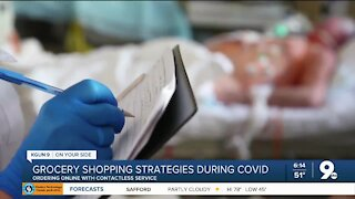 Grocery shopping strategies during the pandemic