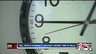 Bill would eliminate daylight saving time in Oklahoma