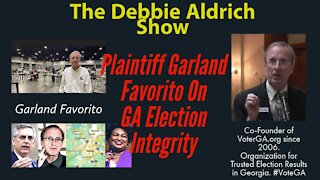 Plantiff Garland Favorito, Election Integrity Co-Founder of http://VoterGa.org