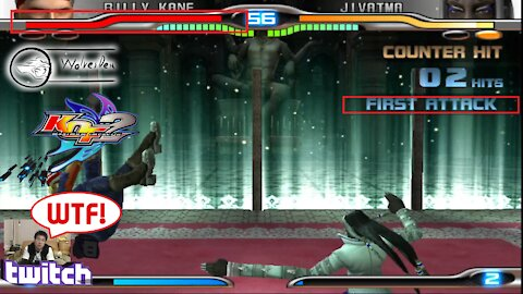 (PS2) KOF Maximum Impact 2 - 21 - Billy Kane - Lv Gamer...why you so hard boss?