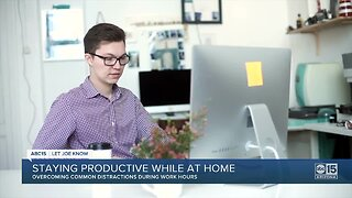 5 tips for working from home during the coronavirus