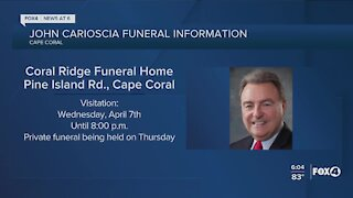 Visitation for former Cape Coral City Council member