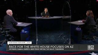 Race for White House focuses on Arizona