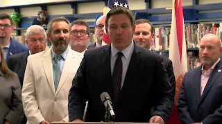 Florida Gov. Ron DeSantis makes education announcement in Fort Myers